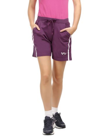 Purple Shorts For Women